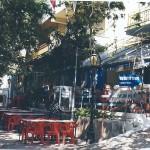 Town Square, coffee houses, church: Kardamila
