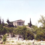 Temple at the Roman Agora