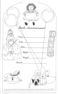 Coloring Page: Certificate