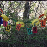 Kids Only Paper Garland Sign