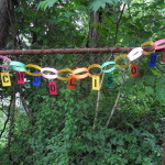 School is Out! Paper Garland Sign