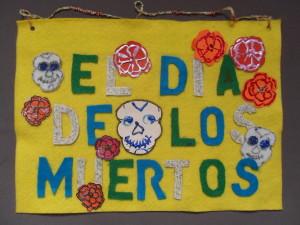 El Dia de los Muertos Banner