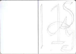 Sketchbook Project 2016 Beginning Sketch