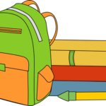 books-and-backpack