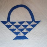 BLUE BASKET PATTERN
