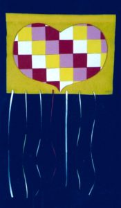 QUILTED HEART BANNER PROJECT