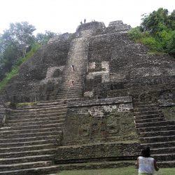 Mayan Pyramids, Lamanai, Belize
