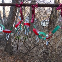 Fence Weaving Holiday Garland