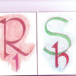 R - I, S - H