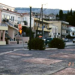 The town of Vrondatos, Chios