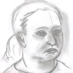 Contour Drawing of the Head