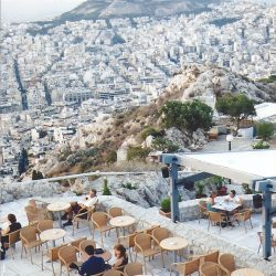 Restaurant on top of Mt. Lycabettus