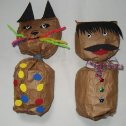 Paper Bag People and Animals